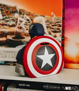 Buste tirelire Captain America