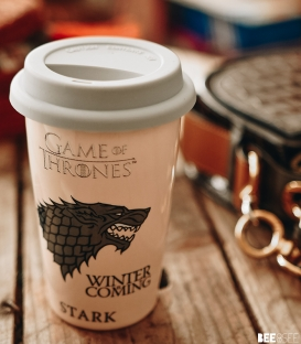 Game of Thrones House of Stark Travel Mug