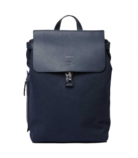 Sandqvist Alva Navy Backpack with Navy Metal Hook