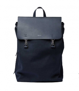 Sandqvist Hege Navy Backpack with Navy Metal Hook