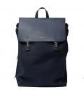 Sandqvist Hege Navy Backpack with Navy Metal Hook
