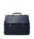 Sac Sandqvist Jones Navy avec Fermeture en Metal Navy