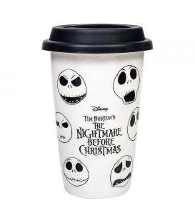Nightmare Before Christmas Jack Face Foil Mug