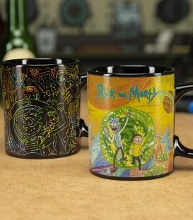 Mug Rick et Morty Effet Thermique