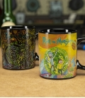 Rick and Morty Portals Heat Change Mug