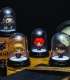Mini Lampe sous cloche Harry Hermione