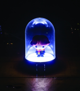 Mini Lampe sous cloche Harry Potter Ron