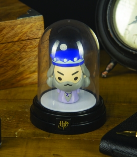 Mini Lampe sous cloche Harry Potter Dumbledore