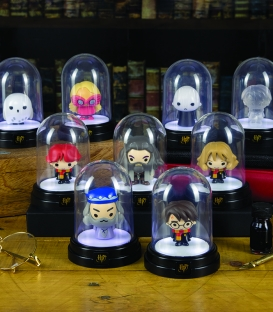 Mini Lampe sous cloche Harry Potter Vodemort