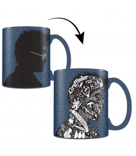 Mug Harry Potter Effet Thermique Magic Portrait