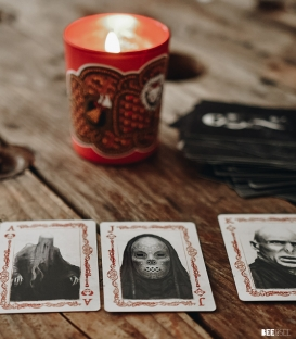 Jeu de cartes Harry Potter Mangemorts