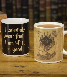 Marauders Map Heat Change Mug