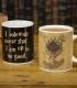Mug Harry Potter Effet Thermique Carte du Maraudeur