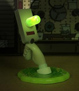 Portal Gun Wall Light Rick & Morty on