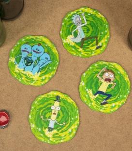 3D Coasters Rick & Morty