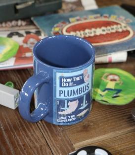 Rick & Morty Plumbus Instruction Mug
