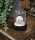 Mini Lampe sous cloche Harry Potter Hedwig