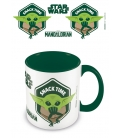 Mug Baby Yoda Snack Time The Mandalorian