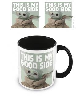 Mug Baby Yoda Good Side The Mandalorian
