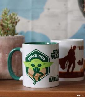 Mug Baby Yoda Snack Time The Mandalorian
