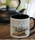 Mug Star Wars Baby Yoda The Mandalorian Good Side