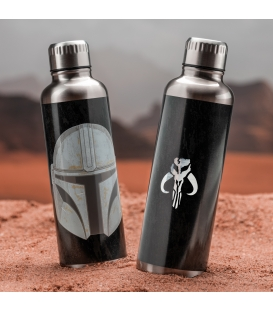 The Mandalorian Metal Drinks Bottle