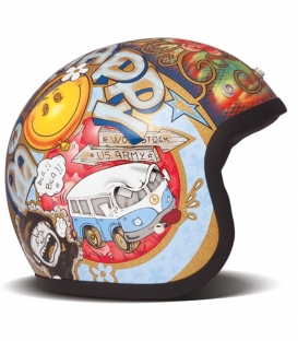 Casque Jet DMD Woodstock