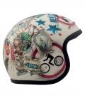 DMD Vintage Jet Helmet Vision