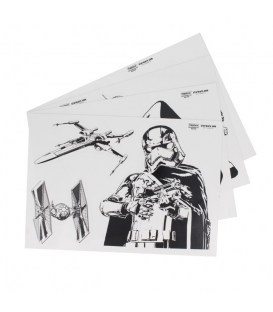 15 Stickers Star Wars Episode VII Dark Side