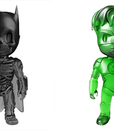 XXRAY Clear Edition Figurines