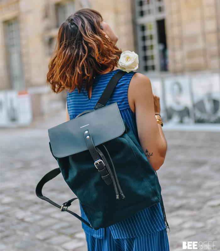 sac alva bleu