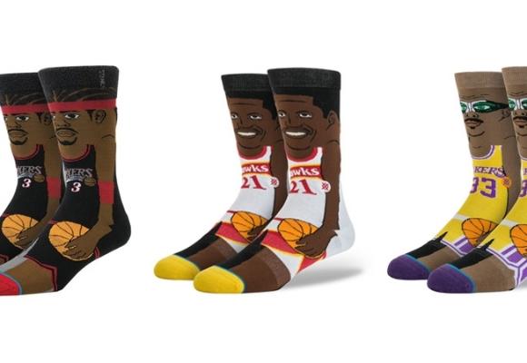 Des légendes NBA à vos pieds.