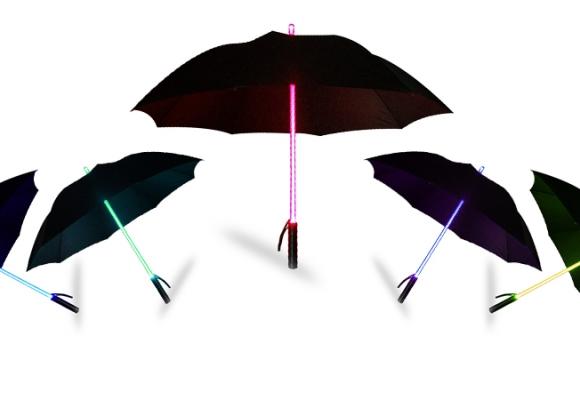 Le parapluie multi-tâches