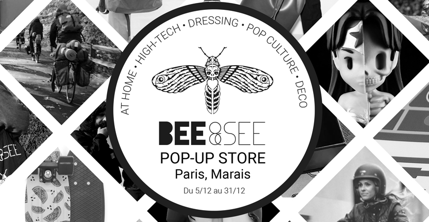 Pop-up Store Bee and See